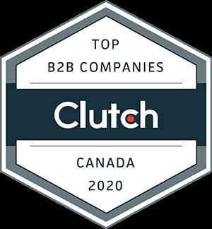 Badge – 2020 Top B2B Companies – Upgrowth Digital